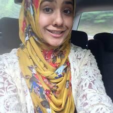Amna felhasználói profilja