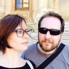 Perfil do utilizador de Marion & Fabio