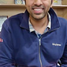 Saaransh felhasználói profilja