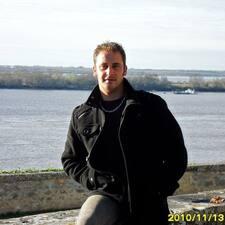 Sebastien felhasználói profilja