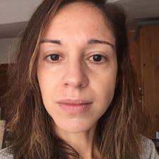 Perfil do utilizador de Sandra