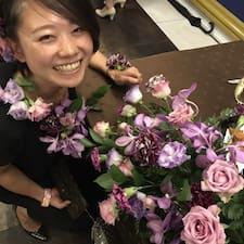 Kanako felhasználói profilja