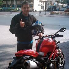 Jaume felhasználói profilja