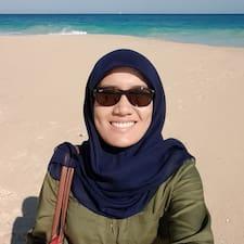 Hajar Izzati User Profile
