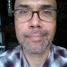 Henkilön Juan käyttäjäprofiili