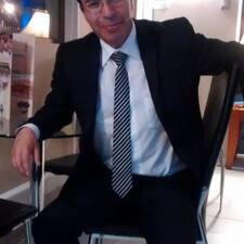 Vicente felhasználói profilja