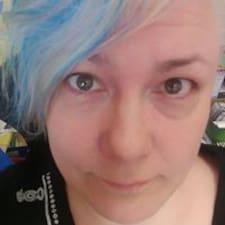 Marika felhasználói profilja
