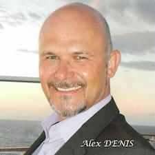 Henkilön Alex käyttäjäprofiili