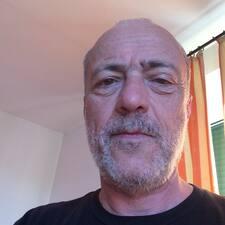 Användarprofil för Pier Dante