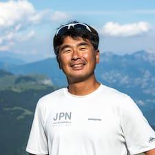 Junichi felhasználói profilja