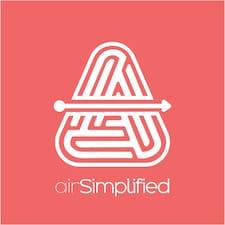 Profil utilisateur de AirSimplified