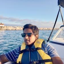 Profil Pengguna Krishna Harsha