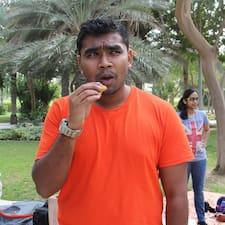 Saravanan felhasználói profilja