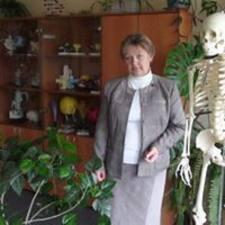 Profil utilisateur de Vera Pavlovna