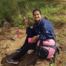 Reshma felhasználói profilja
