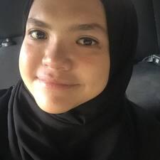 Profil utilisateur de Sharifah