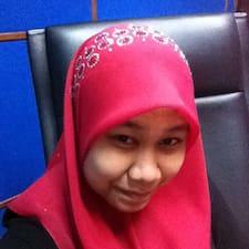 Profil utilisateur de Asyah