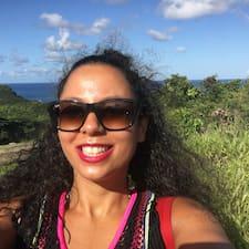 Yasmina felhasználói profilja