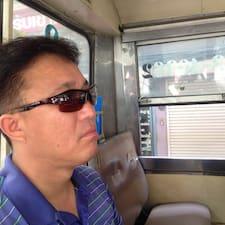Henkilön Sukyong käyttäjäprofiili
