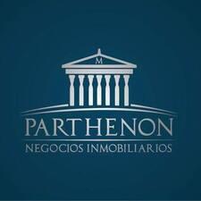 Parthenon felhasználói profilja
