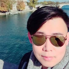 Henkilön Jr-Yuan käyttäjäprofiili