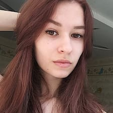 Mariia felhasználói profilja