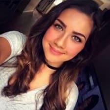 Nadiya felhasználói profilja