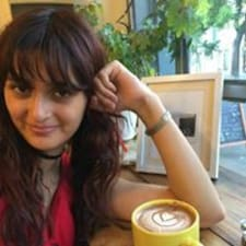 Milena felhasználói profilja