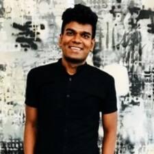 Anand felhasználói profilja