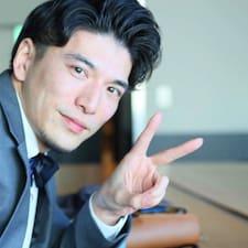 Kazuya felhasználói profilja