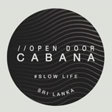Perfil do utilizador de Open Door Cabana