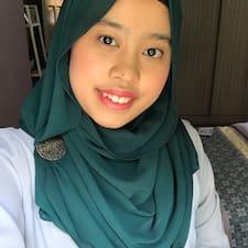 Profil utilisateur de Syarafina