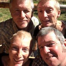 Phil, Liz, Cath, Dave. User Profile