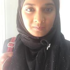 Sufia felhasználói profilja
