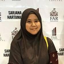 Profil korisnika Siti Hudzimah