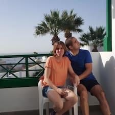 Laida & Galder felhasználói profilja