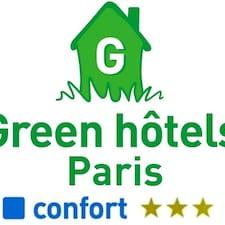 Profilo utente di Green Hotels Paris 13