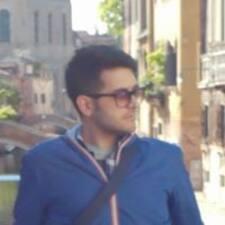 Pierluca felhasználói profilja