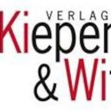 Perfil de usuario de Verlag Kiepenheuer & Witsch