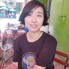 Seulgi/ Sophia felhasználói profilja