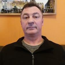 Kozirev felhasználói profilja