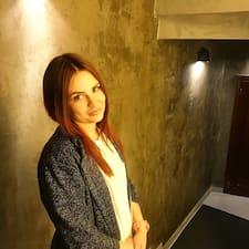 Användarprofil för Elena