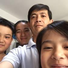 Tuan Dung felhasználói profilja