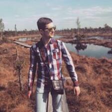 Aleksejs felhasználói profilja
