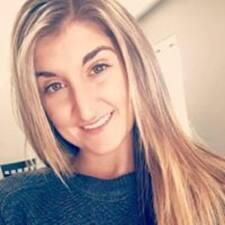 Danica felhasználói profilja