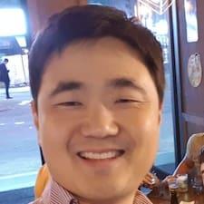 Sang Jin felhasználói profilja