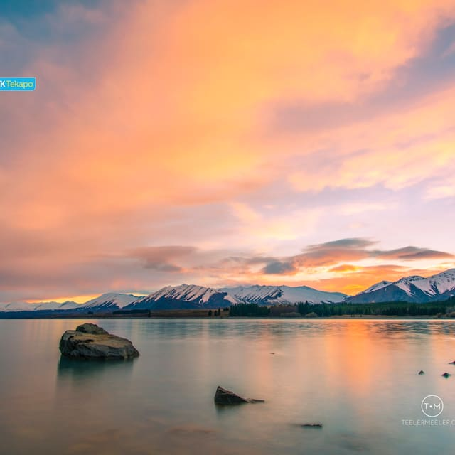 Guidebook for Lake Tekapo