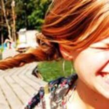 Karolina felhasználói profilja