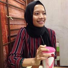 Amira felhasználói profilja