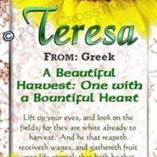 Nutzerprofil von Teresa
